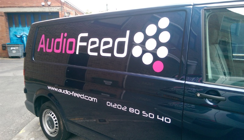 Audio Feed Signage