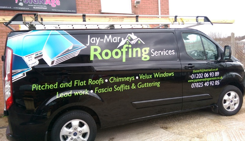 Jay-Mar Roofing Signage