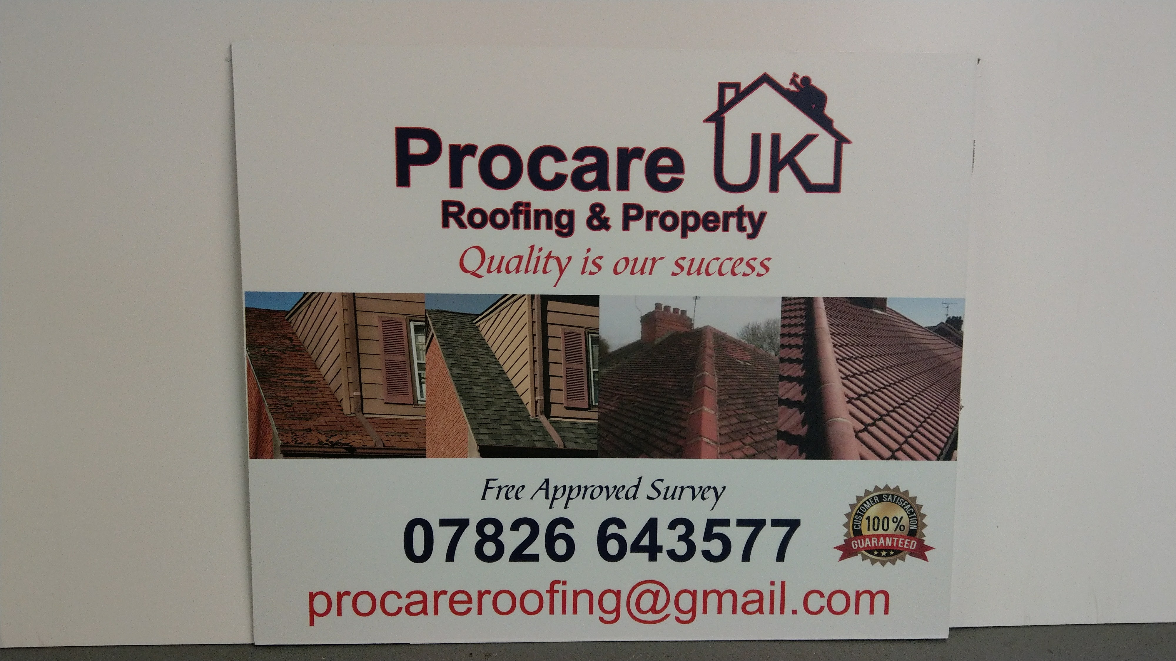 Procare signs signage